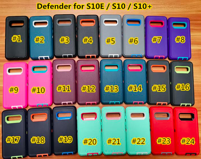 For Samsung Galaxy S10 edge/ S10 / S10 plus Defender Phone Cases Covers 1