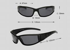 Men Polarized Glasses Car Driver Night Vision Goggles Polarizer Sunglasses