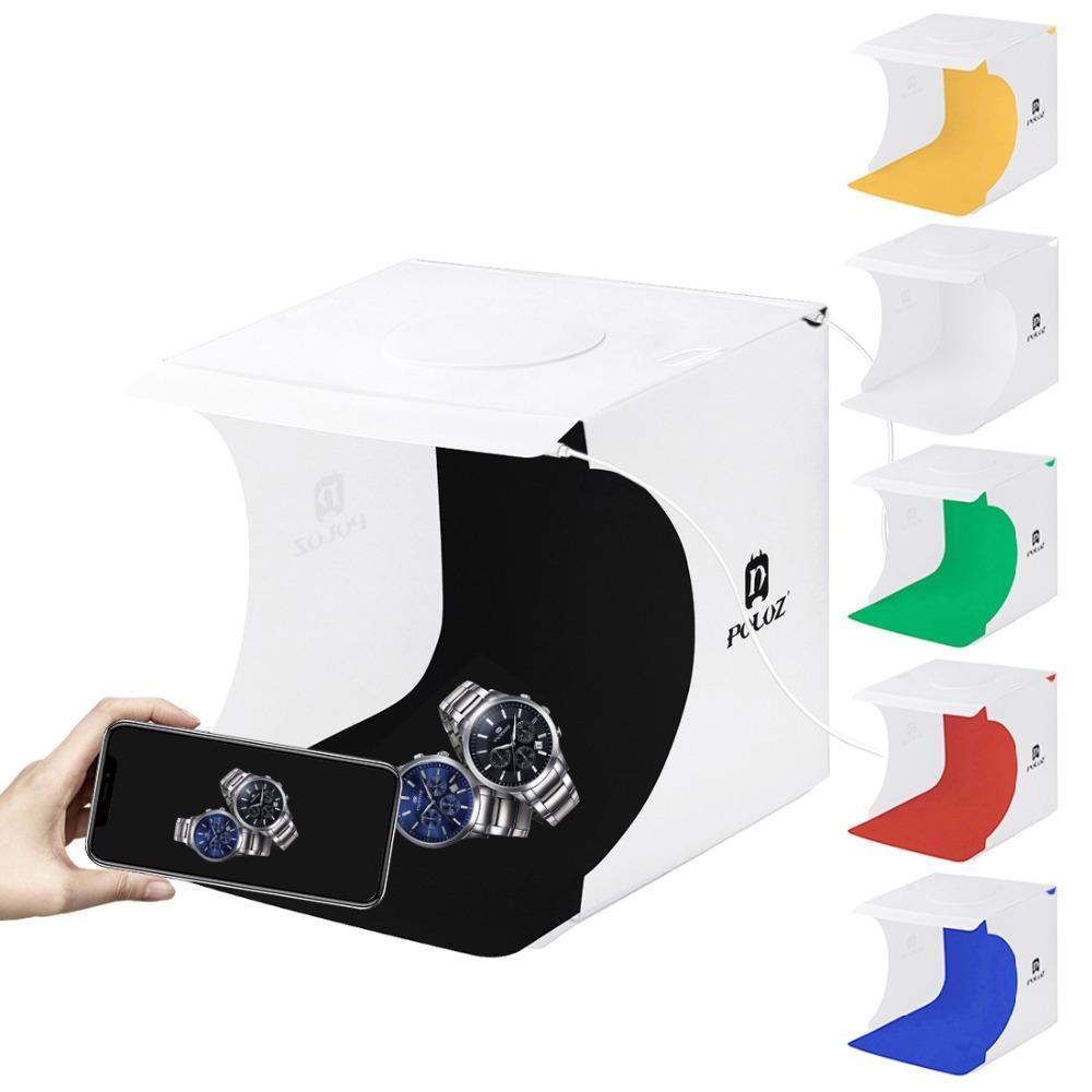 2LED Lightbox Light box Mini Photo Studio Box 1