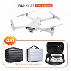 FIMI X8 SE 5KM FPV With 3-axis Gimbal 4K Camera GPS 33mins Flight Time RC Drone