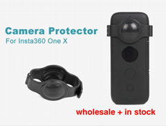 Fisheye Lens Protector Cover Insta360 One X Camera Lens Case for Insta 360 one x