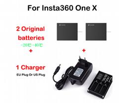 In Stock Original Battery For Insta360 ONE X 1050mAh LiPo Batteries