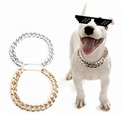 Small Dog Snack Chain Teddy French Bulldog Necklace Pet Accessories