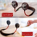 USB Portable Fan Hands-free Neck Hanging USB Charging Mini Portable Sports Fan 3