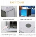Mini USB Portable Air Cooler Fan Air Conditioner 7 Colors Light Desktop Air Cool