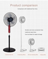 New folding telescopic mini fan USB rechargeable student portable small electric 3