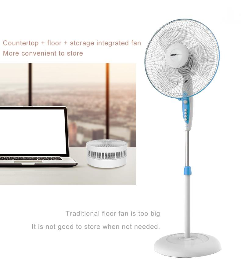 New folding telescopic mini fan USB rechargeable student portable small electric 5