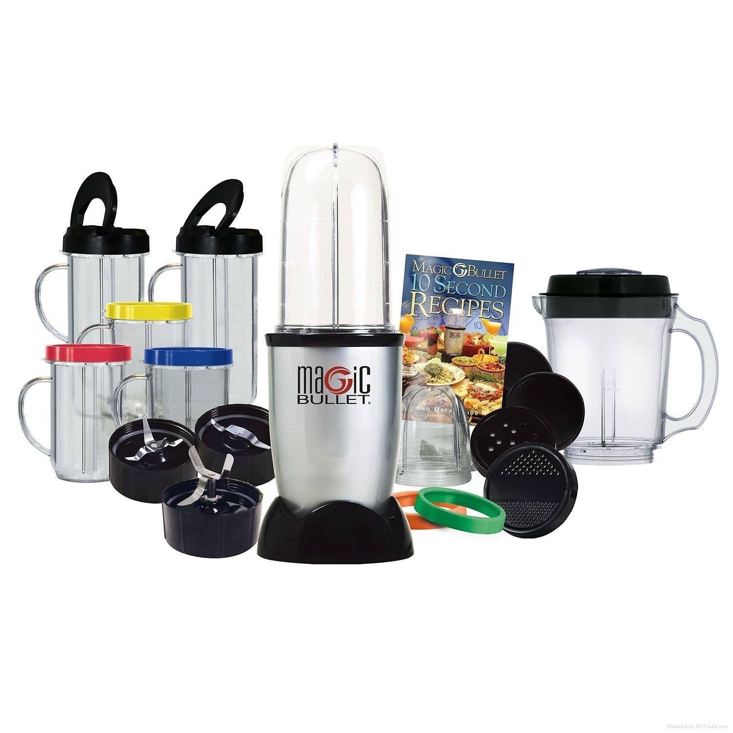 Magic Bullet Deluxe 25 pc Set Blender Mixer 1