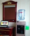 震脈溪zmx-b密封型飲水機立式無菌飲水機儲藏桶裝水 2