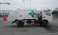 Compression garbage truck(rear loading)