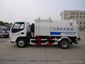 Compression garbage truck(side loading) 1