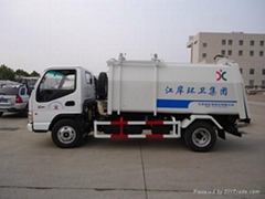 Compression garbage truck(side loading)