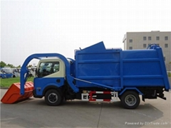 Compression garbage truck(front loading)