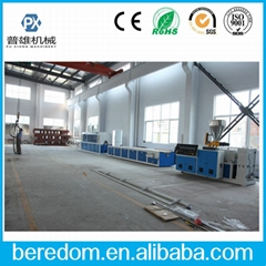 PVC PE PP WPC Window door trunking profile extrusion line
