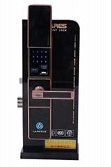 青岛众音密码锁ML302滑盖型指纹锁
