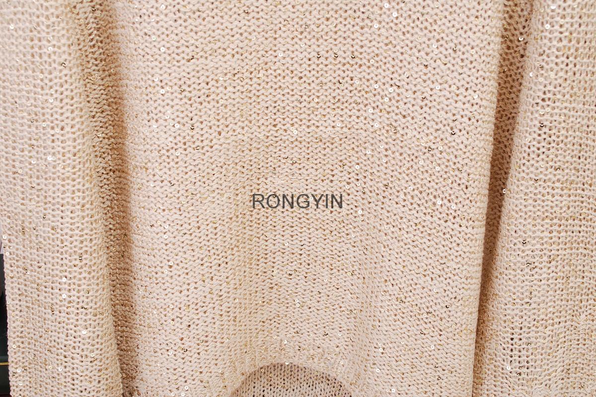 2017年新款毛衣打底衫珠片衫 5