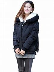 Black Women Winter Fashion Coat