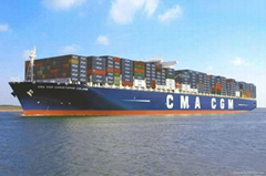 Ocean freight from China to SUVA