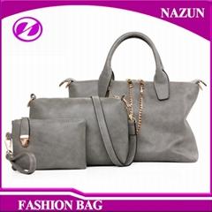 2017 wholesale high quality set women handbags fashion design lady handbag