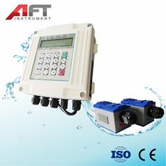 clamp type wallmounted  ultrasonic flow meter