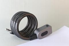 Fingerprint Bluetooth Steel Ring Lock