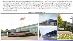 China Chongqing RATO Power Manufacturing Corporation