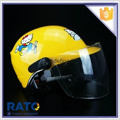 Wholesale best cartoon kids half face motorcycle helmets