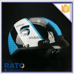 OEM cheap motorcycle helmet with glasses