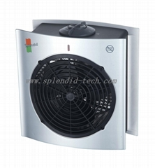 Portable Bathroom Fan heater with over-heat protection IP21 2000W