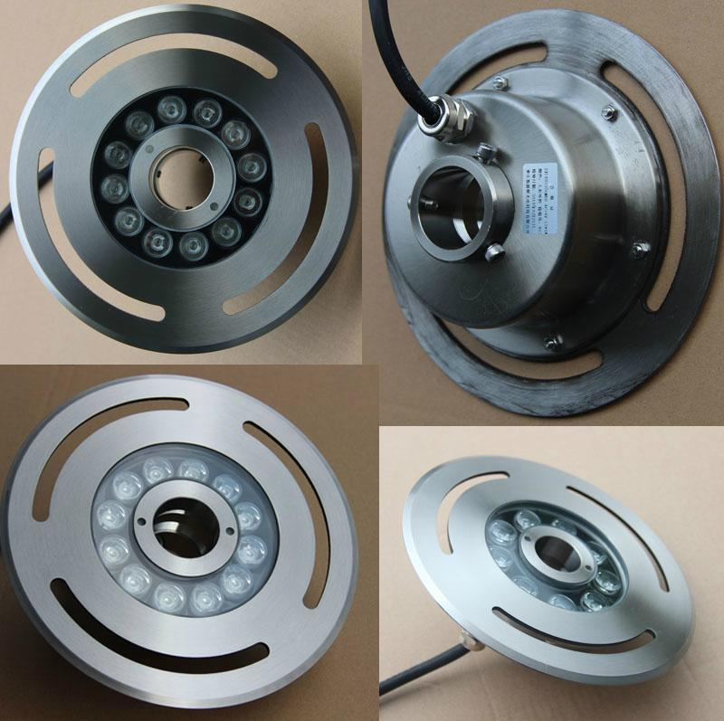 6W-36W Stainless steel Full Color Change Led Fountain Light 3