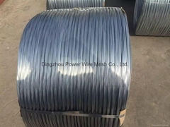 Hot dipped galvanized wi