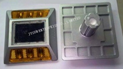 Aluminium led Solar cat eye road studs with shaft manufacturer