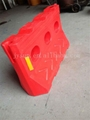 Rotational moulding water fill traffic safety crash barrier 3