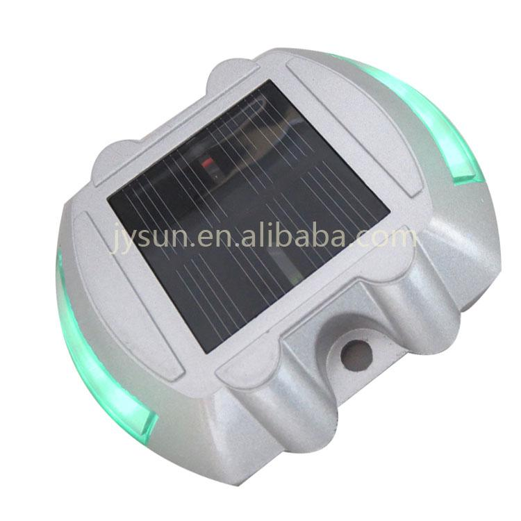 high anti pressure dock Lights aluminun solar road stud  2