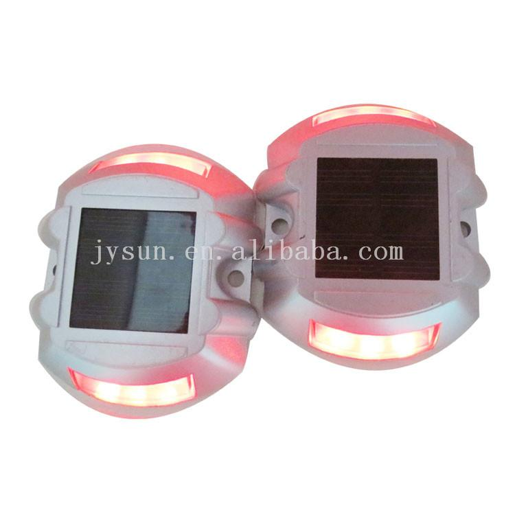 high anti pressure dock Lights aluminun solar road stud  3
