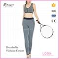 S-SHAPER Womens Fitness Sportwear  Gym Bra  Yoga Leggings  Set 1
