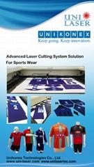 Customized Football Jerseys Laser Cutting Machine
