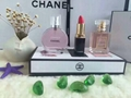 Mini fragrance gift set with perfume and