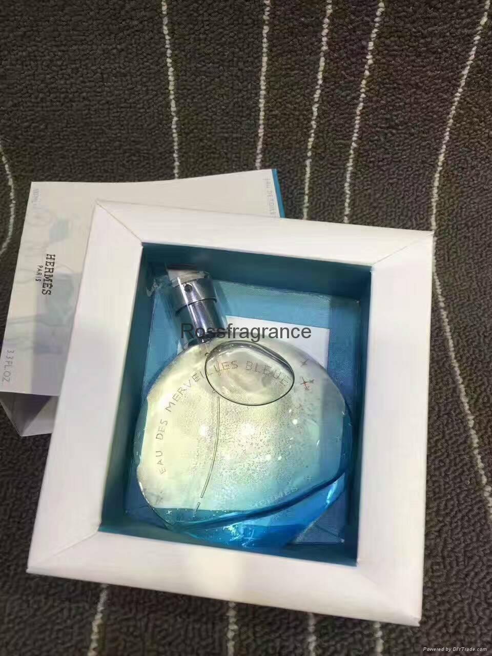 Good glass bottle perfume for women Eau de toilette 100ml 1