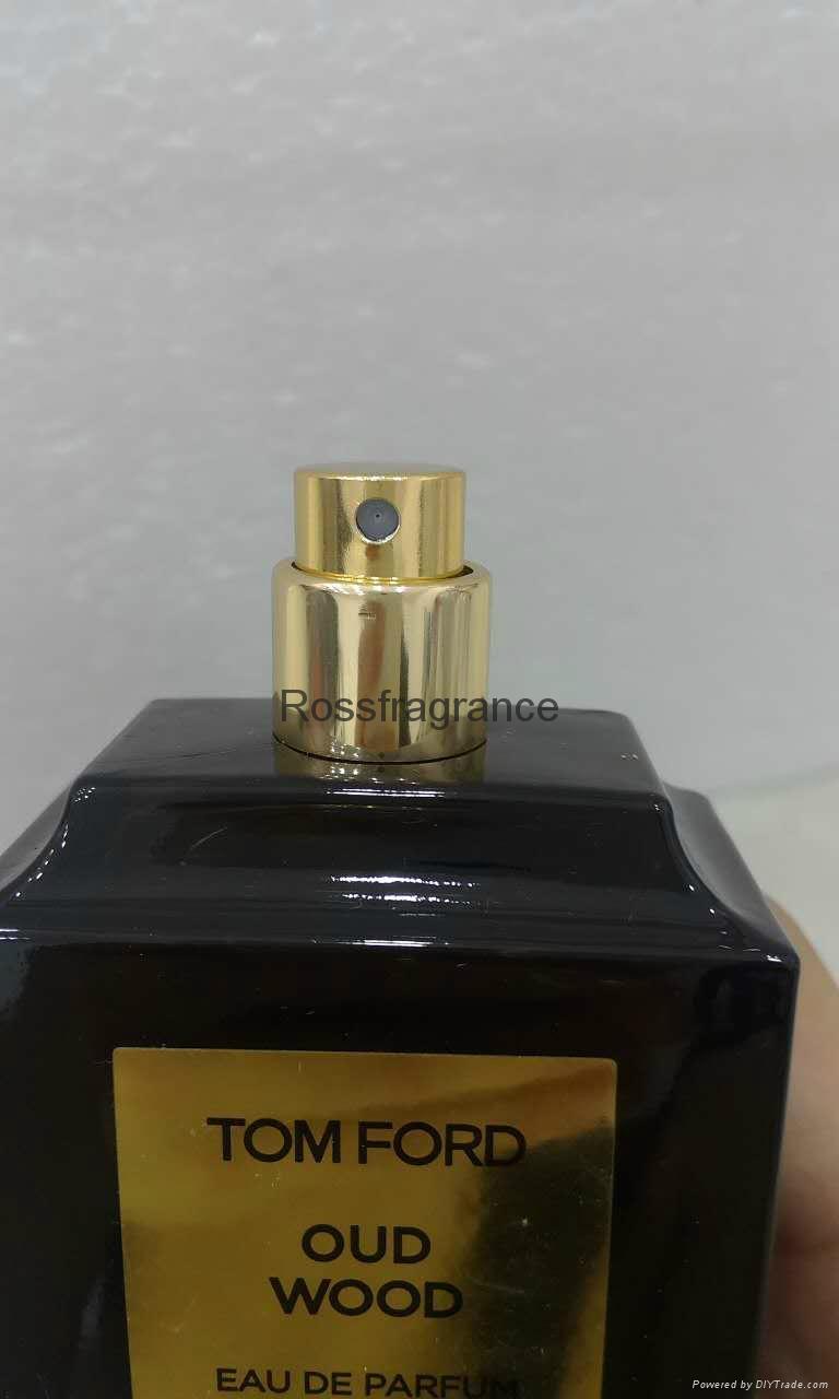 Hot sale Crystal bottle perfume Tom ford oud wood perfume 100ml  3