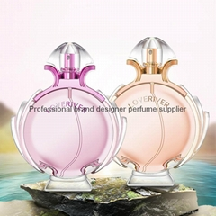China cologne for women/Glass bottle perfume with good scent