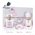 Hot slae designer perfume/fragrance/cologne perfume set eau de toilette