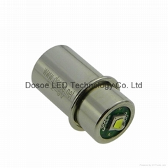 High power Upgraded LED bulb for 3 to 6 cell Maglite torch