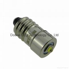 Petzl compatible LED bulb Conversion Upgrade Headlamp E10 1-9V
