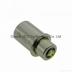 220LM LED light for 2 C & D cells Maglite flashlight
