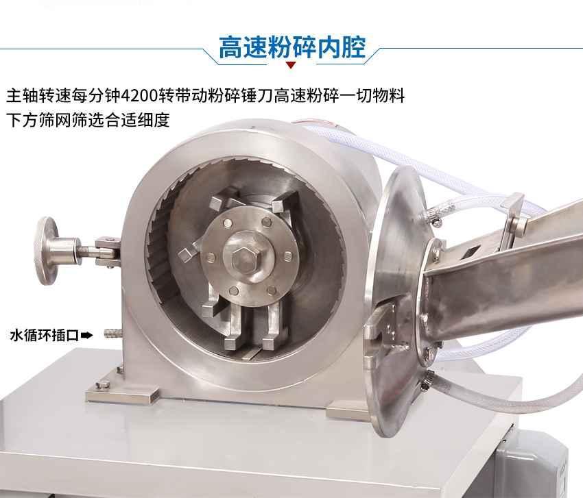 湖南工厂专用除尘粉碎机 5