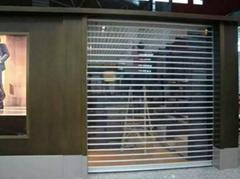 电动水晶卷帘门
