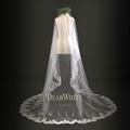 7 Dear White Retro New Model Marry Lace Long Wedding Veils 3