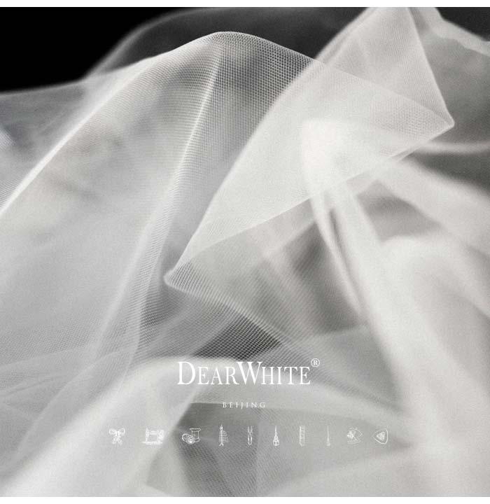 7 Dear White Retro New Model Marry Lace Long Wedding Veils 4