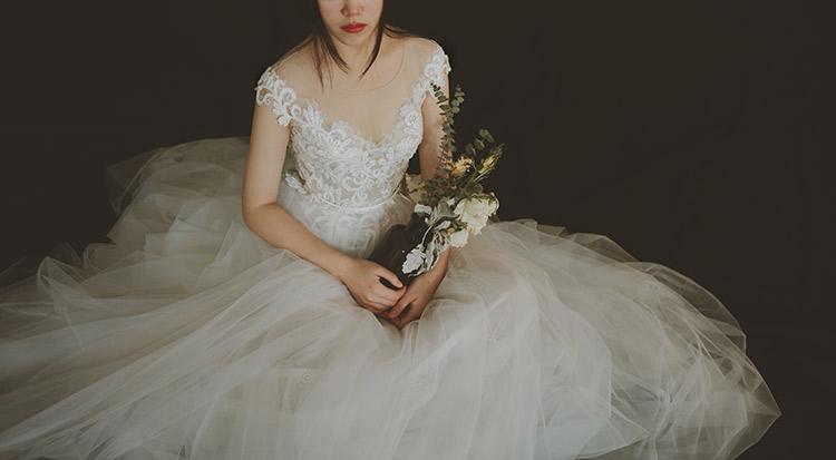 7 Dear White Elegant Lace Brigade Shots Wedding Dresses Chiffon V Neck  2